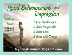 Mood enhancement and Depression. BeyondaBandaid.Blogspot.com