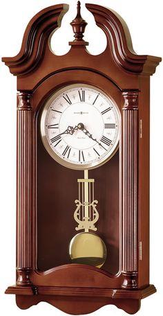 0-030871>Everett Wall Clock Windsor Cherry