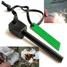 Magnesium Flint Stone Fire Starter Lighter Emergency Survival Camping Gear KIT | eBay
