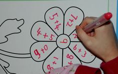 Using the flower colouring page from Activity village as a template to practice number bonds. Fun way of practicing sums. Any number bonds could be revised in this method. Great for children in Key Stage 1 Fun Math Activities, Math Resources, Math Games, Number Sense Kindergarten, Kindergarten Math, Activity Village, Math Graphic Organizers, Homeschool Math, Homeschooling