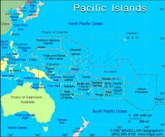 Pacific Islands Map   South Pacific Countries Map See map details ...