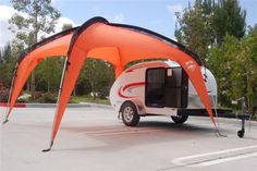 Paha Que 10' x 10' Cottonwood Shade Shelter by Teardrop.  Beach or Lake!