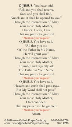 Free Catholic Holy Cards - Catholic Prayer Cards - St Therese of Lisieux - St. Joseph - Our Lady of Guadalupe - Sacred Heart of Jesus - John Paul the Great - Support Missionary work Prayer Scriptures, Faith Prayer, God Prayer, Prayer Cards, Power Of Prayer, Prayer Quotes, Money Prayer, Healing Scriptures, True Quotes