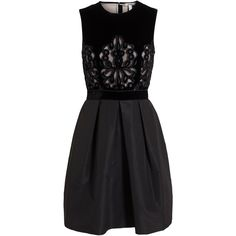 ERDEM Karen Embroidered Lace Dress ($3,075) found on Polyvore