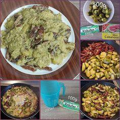 """Gefällt 2 Mal, 1 Kommentare - visual recipe step by step (@cookingwithm.e) auf Instagram: """"#Rosenkohl- #Cabanossi- Pfanne mit #Schmelzkäsesauce. --------------- #Schmelzkäse #Sauce…"""""""