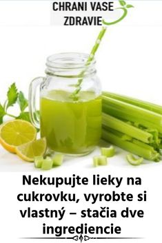 Nekupujte lieky na cukrovku, vyrobte si vlastný – stačia dve ingrediencie Home Recipes, Celery, Diabetes, Workout, Vegetables, Health, Food, Sport, Deporte