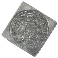 1/6 TALERKLIPPE 1661 Salzburg Guidobald von Thun und Hohenstein 1654 - 1668