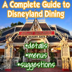 Everything you need to know about Disneyland restaurants. Menus and guest favorites included!