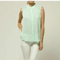 """Moon Collection  """" Minty Fresh Top """" Minty Fresh Top.  T26101.  **PRICE FIRM * * Moon Collection Tops"""
