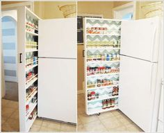Space Saving Furniture and Sneaky Storage Tips for Micro Kitchens