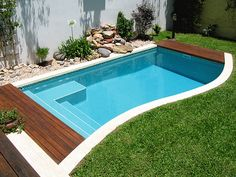 most unique small inground pools ideas that will .- Einzigartigste kleine Inground Pools Ideen, die Ihren Verstand umwerfen werden most unique little inground pools ideas that will upset your mind - Small Inground Pool, Small Swimming Pools, Small Backyard Pools, Small Pools, Swimming Pools Backyard, Swimming Pool Designs, Pool Landscaping, Outdoor Pool, Lap Pools