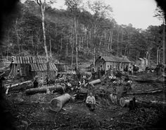 Salvaged Photos Capture the Rugged Life of Pennsylvanias Late-19th-Century Lumber Camps