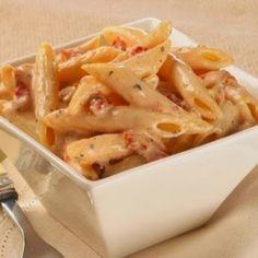 Penne Pasta with Sun-dried Tomato Cream Sauce