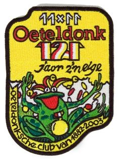 Embleem voor de Oeteldonksche Club 11x11.