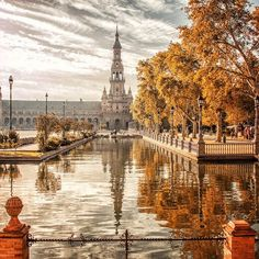 Spain is exciting and diverse, accept personal inner happen bore at El Prado in The city, wander the lively boardwalk along the Mediterranean in Barcelona . Granada, Travel Around The World, Around The Worlds, Spanish Architecture, Seville Spain, Tours, Spain Travel, Malaga, Travel Inspiration