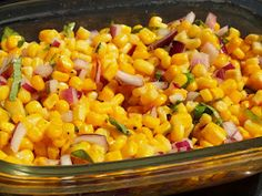 Corn Salad - perfect for BBQ!