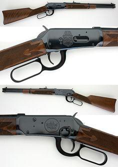 """Winchester model 94 commemorative """"Border Patrol"""" edition. Caliber .30-30.  Bring it minute men! #winchester #rifle #gun"""