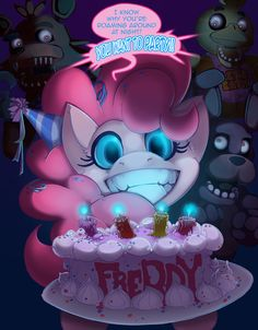 Five Nights With Pinkie by foolyguy.deviantart.com on @deviantART