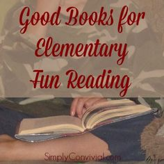 Find great fun reads for your elementary students, whether you homeschool or not. I love homeschooling book lists! Included: Free printable book list.
