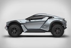 Zarooq Motors is a new car brand from the UAE (United Arab Emirates ), they have presented the spectacular Zarooq Sand Racer, a racing car specifically designed for the desert, yet it is street legal. The beastly dune jumper is powered by an impressi