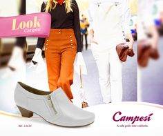 Aposte na linha branca para combinar com vários looks diferentes: do mais colorido até o mais neutro! #lookCampesí