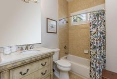 Traditional Full Bathroom with Oval Ceramic Undermount Bathroom Sink in Biscuit by Ronbow, Crema Vosscione Limestone