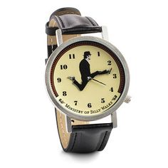 Monty Python fans will enjoy owning a watch based on a Monty Python sketch. The Monty Python Ministry of Silly Walks Watch is perfect for fans of the show and Monty Python, Things To Buy, How To Memorize Things, Stuff To Buy, Fun Things, Thing 1, Cool Gadgets, Geek Gadgets, Cool Watches