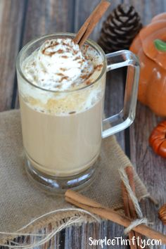 We have another delicious Starbucks Copycat recipe for you. You can enjoy this very popular Starbucks Copycat Pumpkin Spice Latte right at home while saving a few bucks!