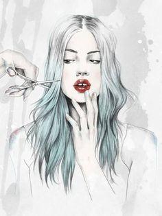 Esra Roise #illustration #painting #drawing