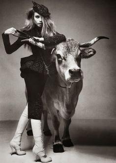 'La Couture est dans le pré', Natasha Poly by Patrick Demarchelier, Vogue Paris Natasha Poly, Patrick Demarchelier, Vogue Paris, Christian Dior, Taurus Moon, Taurus Art, Taurus Bull, Taurus Horoscope, Horoscopes