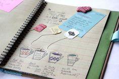Teas I drink..Journal ideas