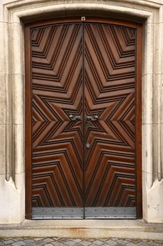 Beautiful star pattern walnut entry door http://monarchcustomdoors.com/portfolio_post/2053-entry-beautiful-star-pattern-walnut-entry-door/