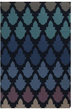 $5 Off when you share! Surya Frontier 841 Federal Blue Rug