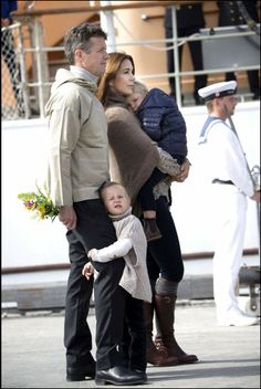 Crown Prince Frederik,Crown Princess Mary and their children visited Paamiut,Greenlad.