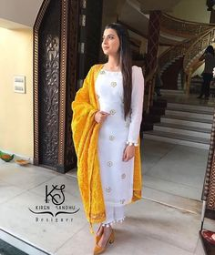 Indian Suits, Indian Attire, Indian Wear, Punjabi Suits, Indian Fashion Designers, Indian Designer Wear, Pakistani Dresses, Indian Dresses, Suits For Women