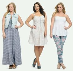 Torrid- love these outfits especially the last one