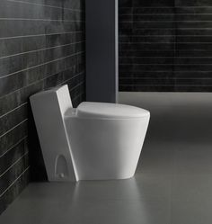 One Piece Toilet - Modern Bathroom Toilet - Dual Flush Toilet -Monte Carlo Modern Bathroom Decor, Bathroom Trends, Bathroom Colors, Bathroom Interior Design, Bathroom Sets, Small Bathroom, Master Bathroom, Remodled Bathrooms, Master Baths