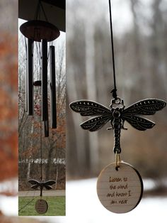 Items similar to Memorial Wind Chime Dragonfly Custom Gift After Loss Of Mom Dad or Loved One In Memory of stillbirth miscarriage memorial garden on Etsy Grieving Gifts, Memorial Wind Chimes, Memorial Gifts, Memorial Ideas, Funeral Poems, Diy Gifts For Him, Serenity Prayer, Thing 1, Poems