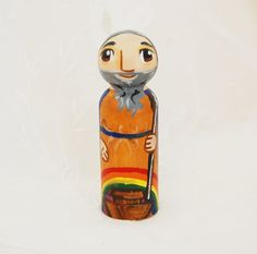 Saint Noah from the Bible  Catholic Saint Doll  by SaintAnneStudio, $48.00