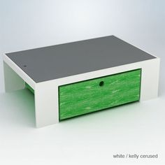 Parker Playtable with Reversible Chalkboard Top in Choice of Finish