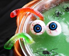 Swamp Juice: Halloween Party Punch | Quick Dish Recipes. Add dry ice to make swamp mist. Click here for directions!