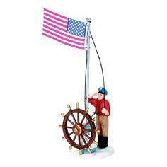 Department 56 New England Raising The Flag 56.56687