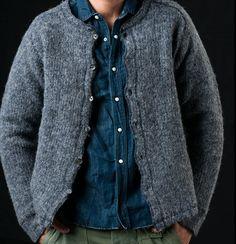 Modern utility : grey wool | denim | khaki fatigues