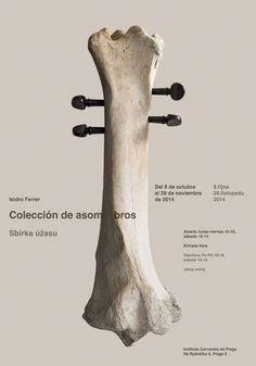 Carteles : Isidro Ferrer #poster #photo #bone