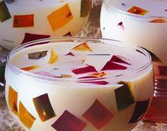 como fazer gelatina colorida dukan