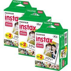 Fujifilm Instax Mini Film Bundle Pack (60 Shots)