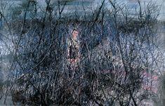 Little Boy zeng fanzhi 2006  óleo sobre lienzo 180x220 cm