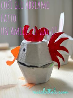 Riciclattoli (e dintorni...): Il coniglietto pasquale (di riciclo) e i suoi amici
