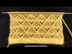 Das Neuen Besten : Knitting pattern/design for cardigans/ladies sweater Knitting Stiches, Knitting Videos, Free Knitting, Crochet Stitches, Baby Knitting, Knit Crochet, Animal Knitting Patterns, Sweater Knitting Patterns, Knitting Designs