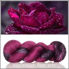 CADENCE SUPERWASH MERINO SILK PEARLESCENT FINGERING yarn by expression fiber arts